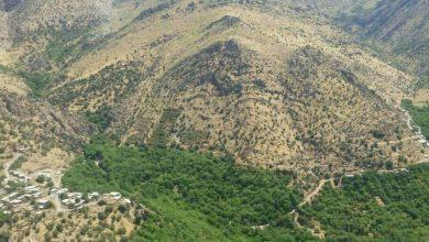 روستای کیمنه و بیرواس از نمایی متفاوت
