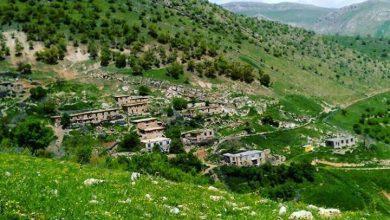 روستای بله ای (میوی) در بهار ۱۳۹۶