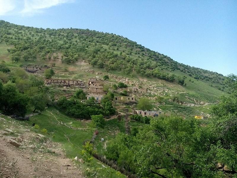 روستای بله ای در تابستان ۱۳۹۶ - عکس از هادی محمودی