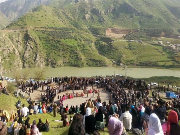 """برگزاری مراسم نوروز در روستای """" نیسانه"""""""