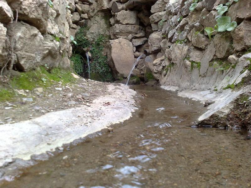 تصاویر یکی از چشمه های دایمی روستا