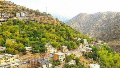 پاییز دیدنی شهر نودشه - عکس از حمزه یعقوبی