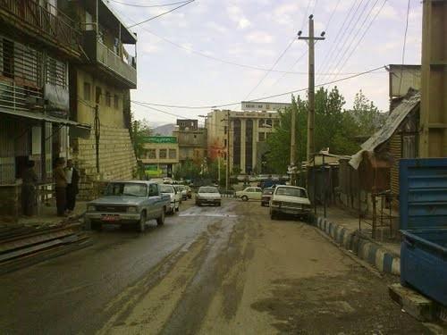 نمایی از شهر نوسود به نامهای محلی: قلوز و مله سروا