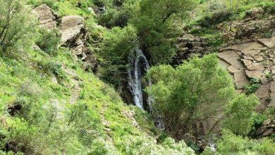 آبشار شیلماو در غرب روستای خانقاه