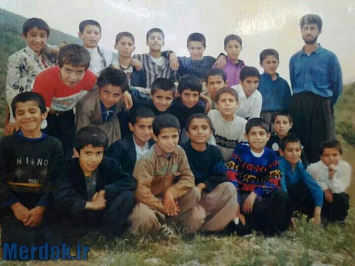 دانش آموزان پایه چهارم دبستان شهید باهنر بوریدر ( بهار 1376 )