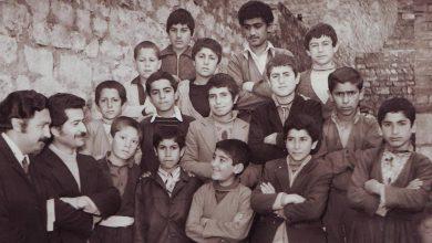 مدرسه های پاوه قدیم- منبع : آلبوم مرحوم زرتشتیان