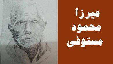 مرحوم میرزا محمود مستوفی (محزون)