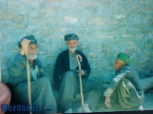 از راست به چپ: حاجی سید جعفر حسینی، کاک محمد نعمتی و حاجی محمد شریف محمودی