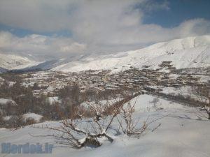 برف فروردین 94 پایگلان