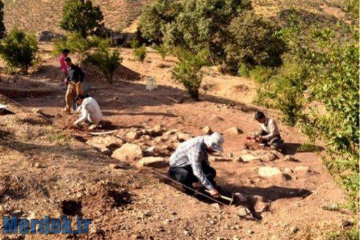 محوطه با قدمت چند هزار سال در روستای روار