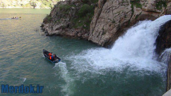 آبشار بل در روستای هجیج