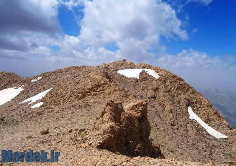 بلندترین ارتفاع مشرف بر شهر 3235 متر