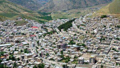 نمایی از شهر پاوه
