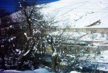 سراب هولی در یک روز برفی - 85/11/27 - عکس از هژیر روشنی مقدم