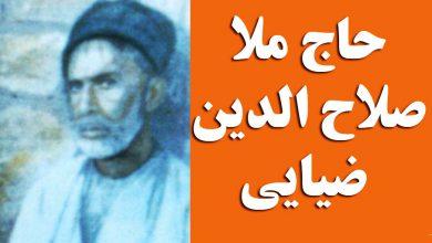 حاج ملاصلاح الدین ضیایی
