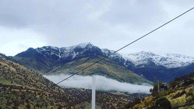 سردره - نمایی از قله زاز / عکاس : فارز مرادی