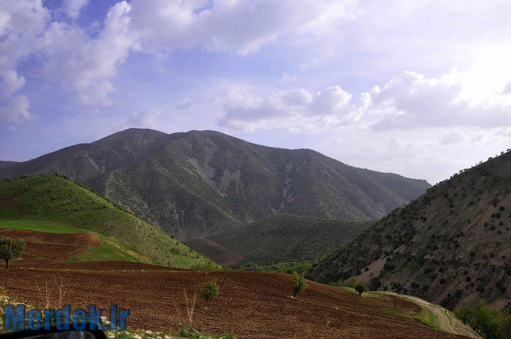 عکس از ارتفاعات روستای سیمان