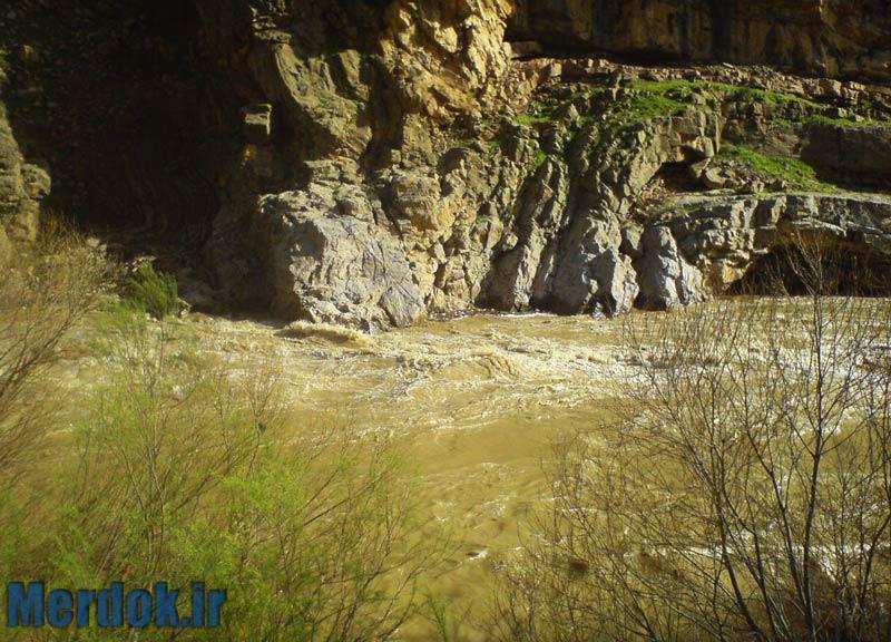 رودخانه سیروان - زلته