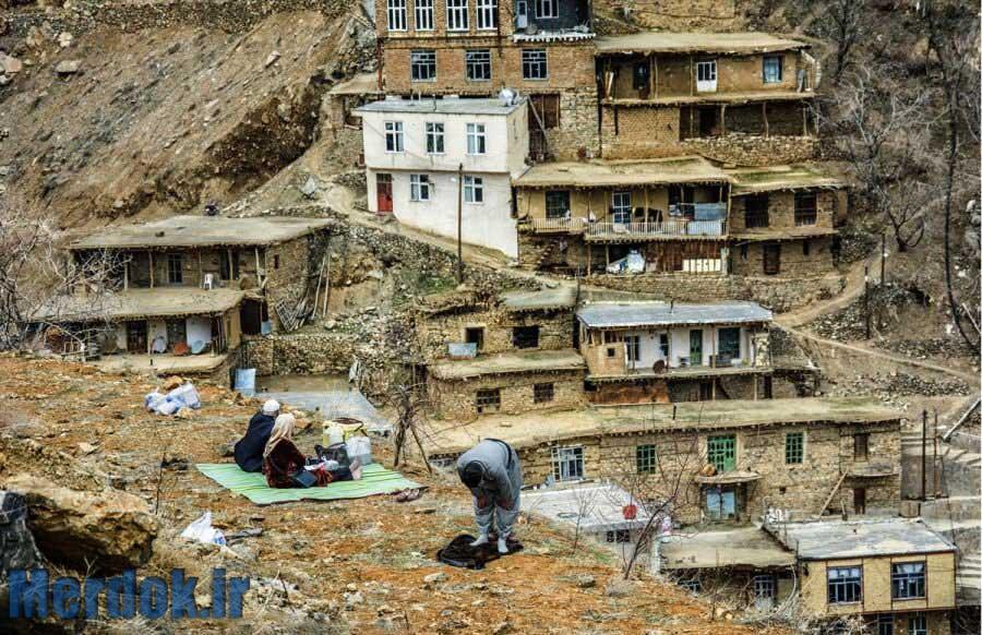روستای تنگی سر - عکس از عطا رنجبر