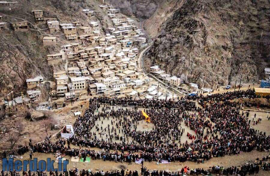روستای تنگی سر - عکس از سید مصلح پیرخزرائیان