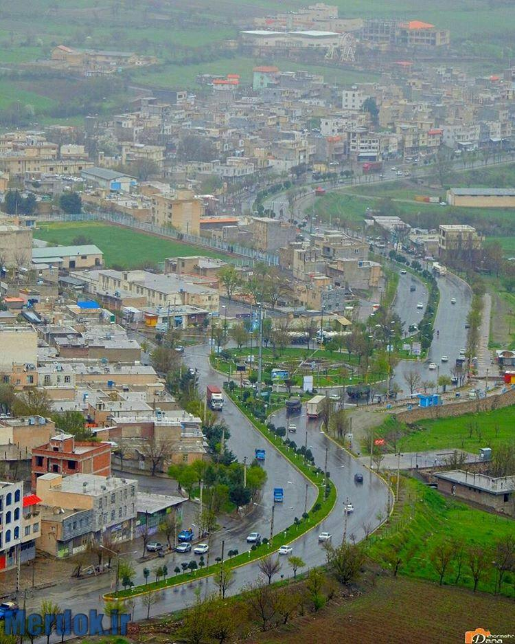شهر سروآباد