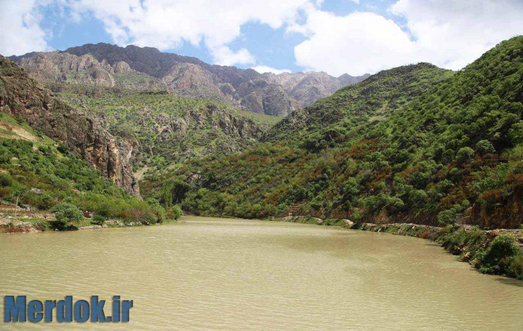 دریاچه سد داریان