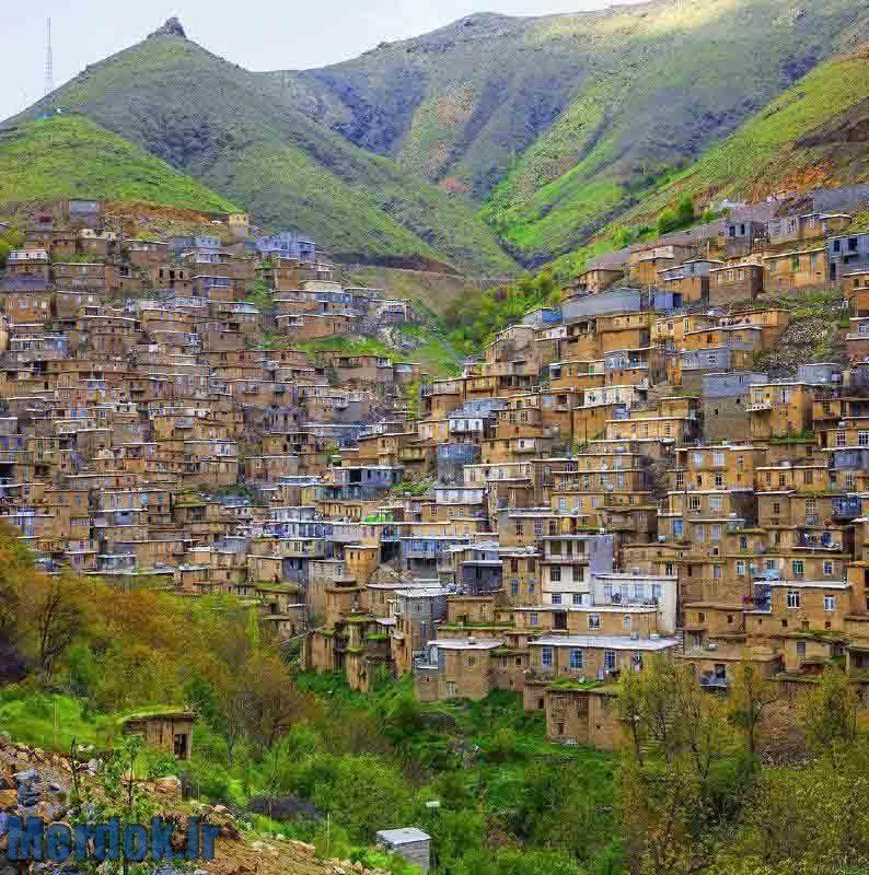 روستای زیبای گلین - بخش ژاوەرود عکس از محسن محمدخانی