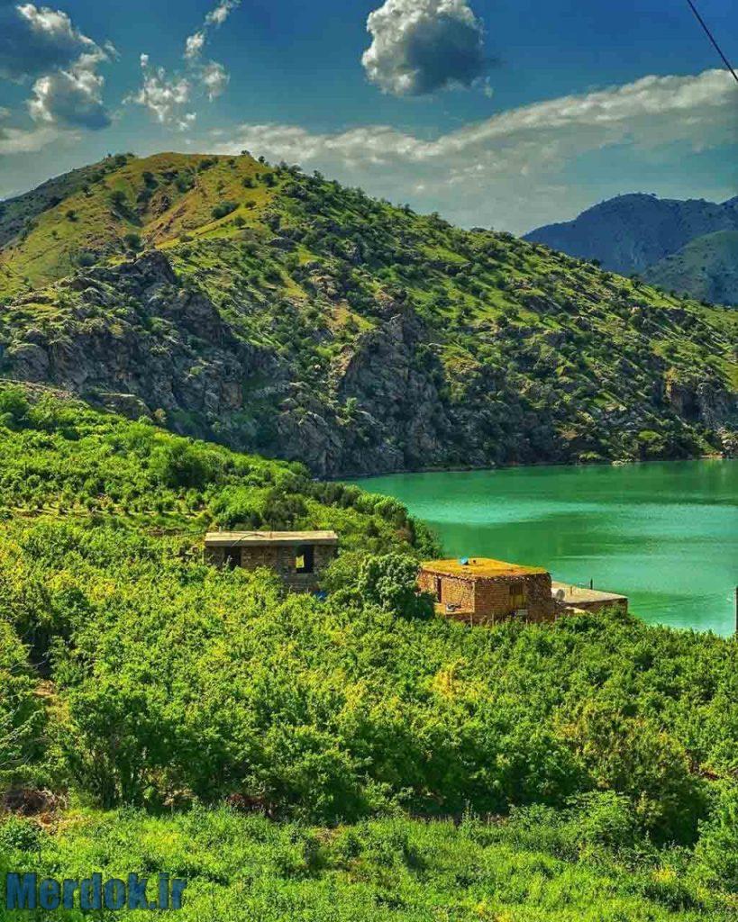 طبیعت زیبای روستای هیروی عکس از ایرج مقدم - ۲۰۱۹