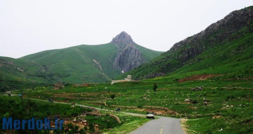 منطقه کوهستانی در شهرستان سروآباد