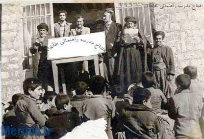 افتتاح مدرسه راهنمایی روستای خانقاه